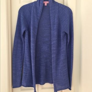 Lilly Pulitzer Periwinkle knit Cardigan